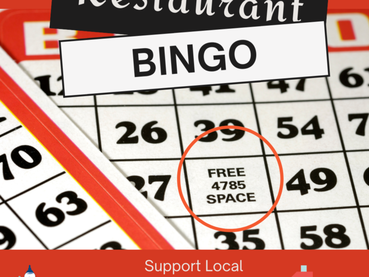 Restaurant Bingo – Dine Local, Win Prizes!