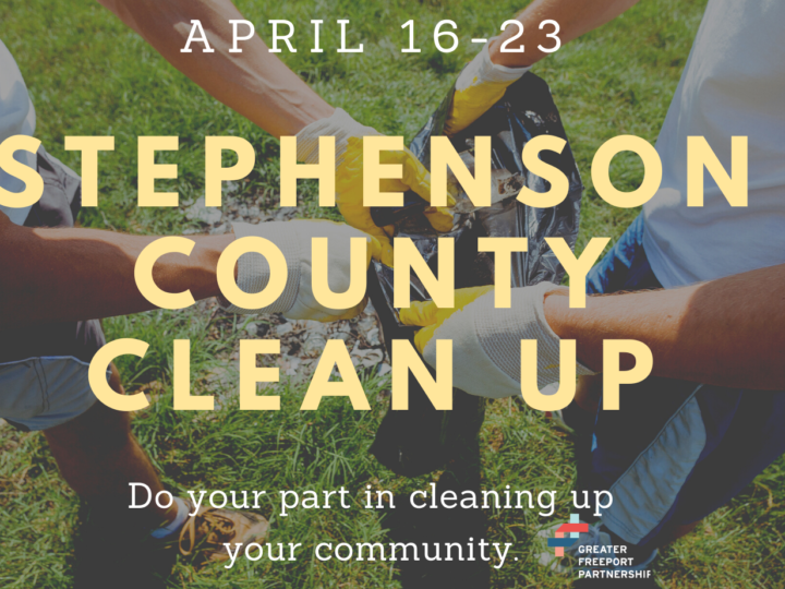 Sign Up for Stephenson County Clean-Up April 16-23