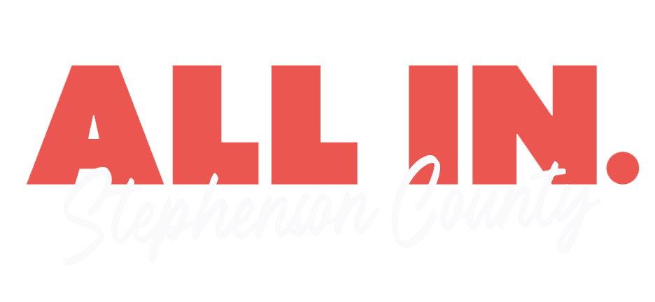 All In Stephenson County Logo